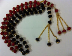 Glass Prayer beads with golden dangler - Arabic Islamic Shopping Store - 1