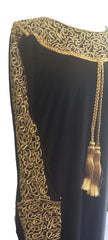 Royal Arabian Fancy Thobe Dress - Braided Borders - Arabic Islamic Shopping Store - 2