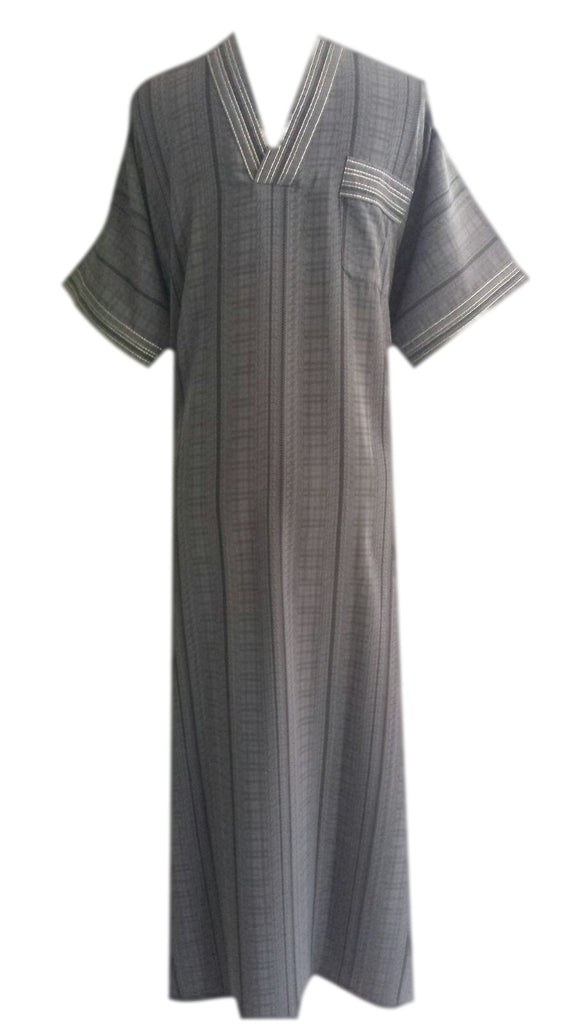 Checkered Casual Dubai Thobes/Dishdashas - Arabic Islamic Shopping Store - 1