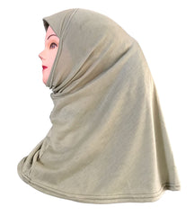 Plain Sober Hijab for Muslim Women
