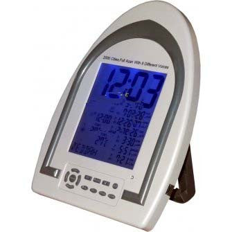 Muslim Azan Clock for Call of Prayers - AC 2012 With 2000 Cities - Arabic Islamic Shopping Store - 1
