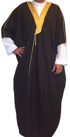 Men's Jalabiya - Bisht (Arabic / Islamic Long Robe) - Arabic Clothing - Arabic Islamic Shopping Store - 1