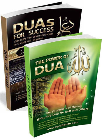 "Dua Books - Duas for Success"" and ""Power of Dua"""