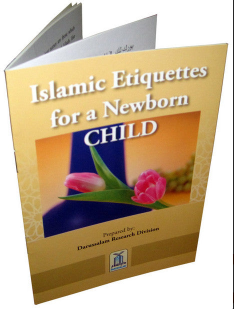 Islamic Etiquettes for a Newborn Child - Arabic Islamic Shopping Store