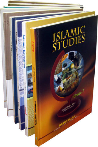 Islamic Education Series Grades 1-12 (Set of 12 Books) - Arabic Islamic Shopping Store
