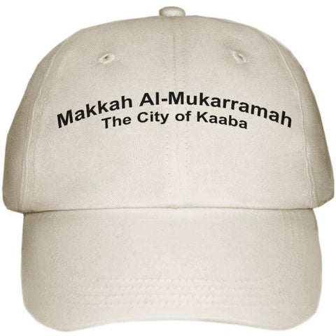"Cap with ""Makkah Al-Mukarramah"" - Arabic Islamic Shopping Store"