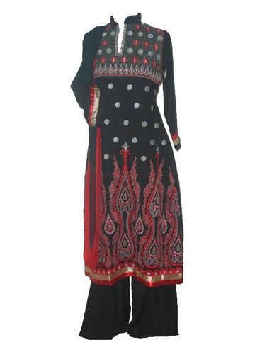 Ladies' Pakistani pants kameez with embroidery - Arabic Islamic Shopping Store - 1