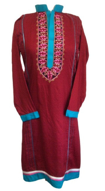 Elegantly embroidered Tunic top - Arabic Islamic Shopping Store