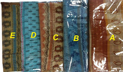 Fancy Patterned Long Shawls - Arabic Islamic Shopping Store - 2