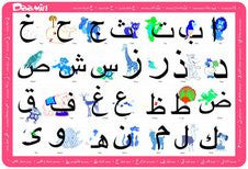 Arabic Alphabet Activity Placemat - Arabic Islamic Shopping Store