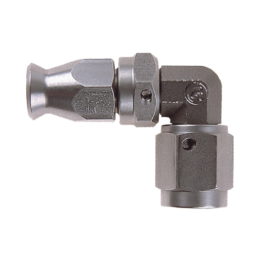 JIC 90 DEGREE FORGED FEMALE DOUBLE SWIVEL FITTING
