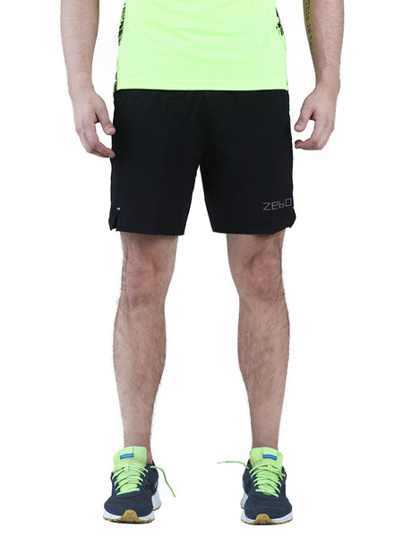 Training shorts- with attached inner compression wear - Zebo Active Wear