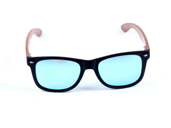Wayfarer sport- Polarised UV protection sunglasses- Blue - Zebo Active Wear