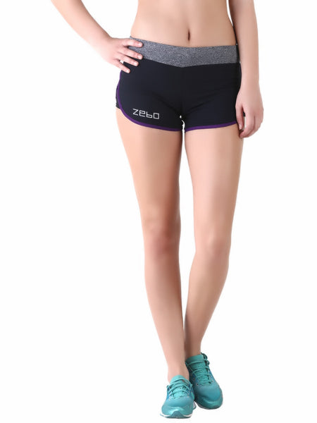 Anti-bacterial quick dry shorts - Zebo Active Wear