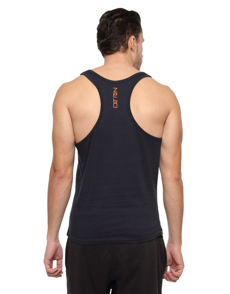 Go heavy or go home- cotton training tank - Zebo Active Wear