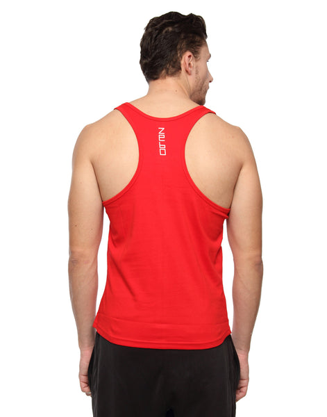 #BEAST- Cotton training tank - Zebo Active Wear