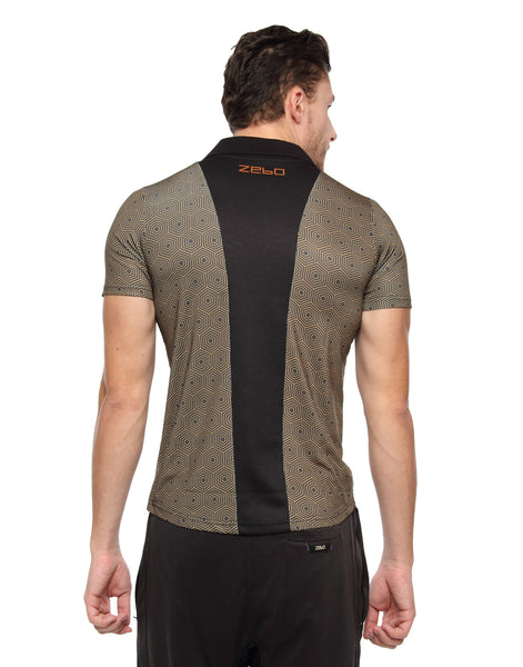 PERFORMA+ GeoHex Polo - Zebo Active Wear
