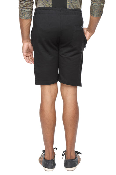 Cotton casual training Shorts- Black - Zebo Active Wear