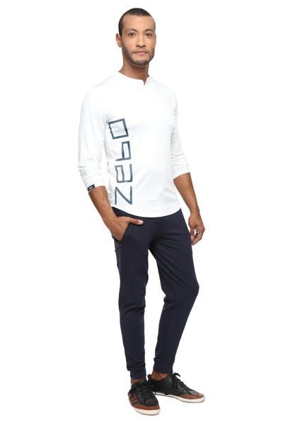 PERFORMA+ Blancos full sleeve Henley - Zebo Active Wear
