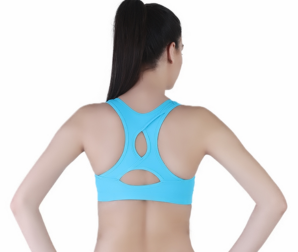 Anti-bacterial high impact padded training bra - Zebo Active Wear