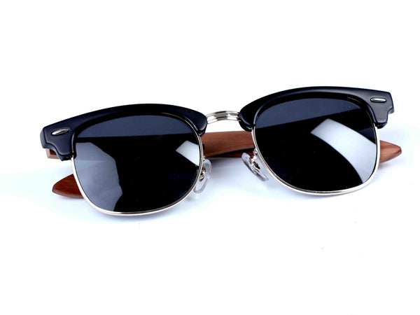 Clubmaster- Polarised UV protection sunglasses - Zebo Active Wear