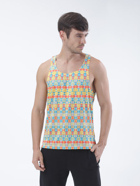 Tribe- Poly training tank - Zebo Active Wear
