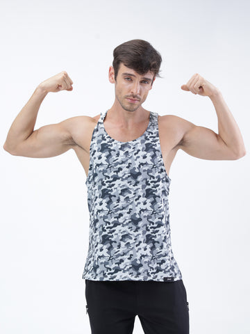 PERFORMA+ Camo training tank - Zebo Active Wear