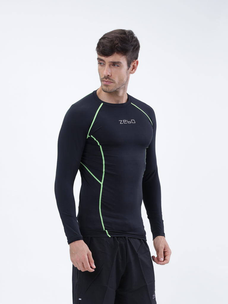 Compression Pro- Full sleeve training top - Zebo Active Wear