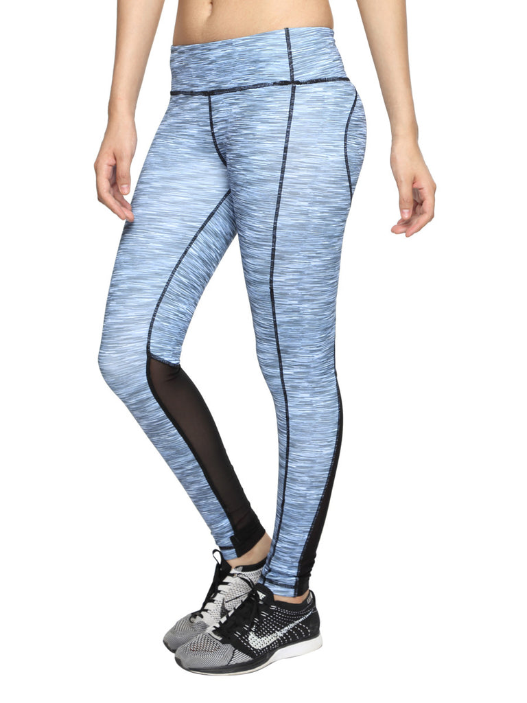 Anti-bacterial ultra flex-quick dry leggings with back mesh - Zebo Active Wear