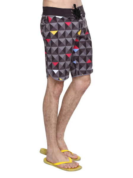 Board shorts- AbsArt quick-dry poly shorts - Zebo Active Wear