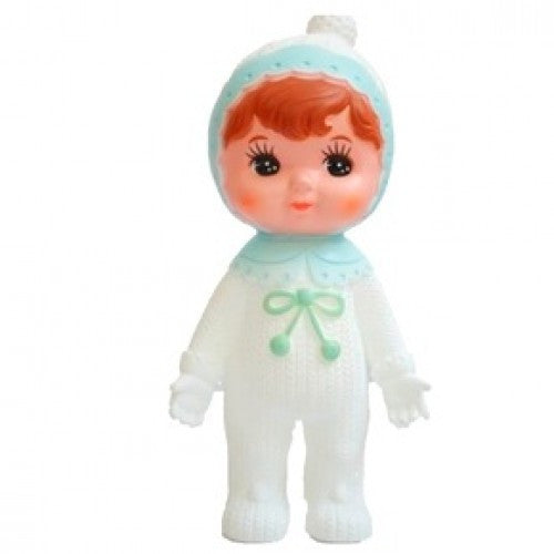 Pale Blue Snow Baby Woodland Doll