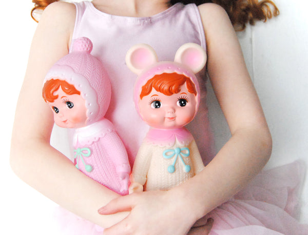 Cherry Blossom Woodland Doll