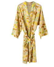 Load image into Gallery viewer, FLORAL PRINT COTTON KIMONO