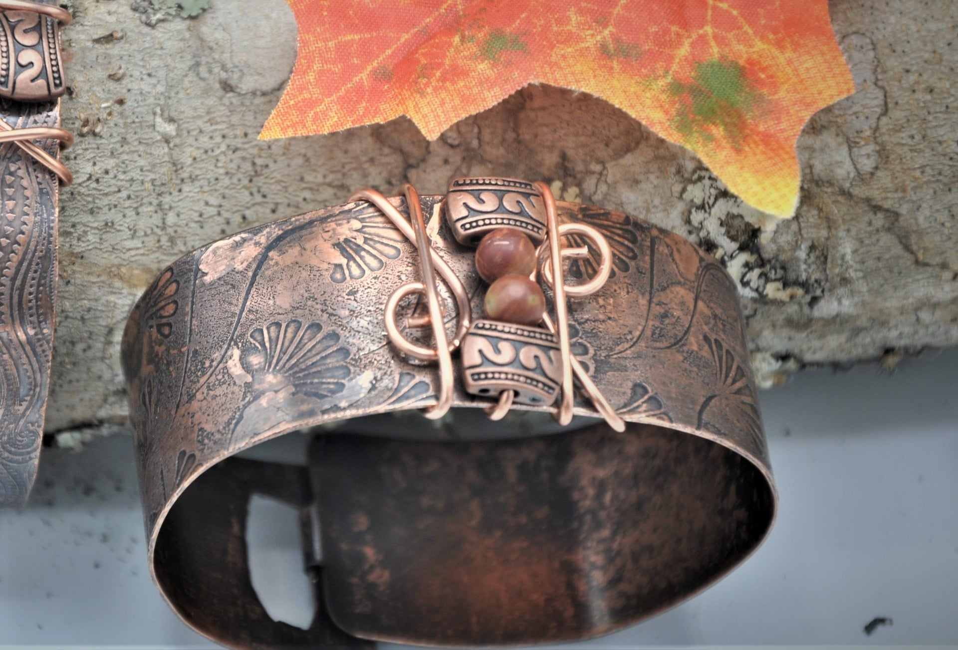 Rustic Copper Cuff