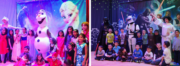 Fairyland theater birthday party
