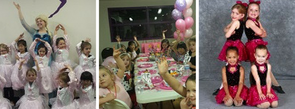 CDA Dance academy birthday party