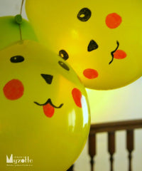 Pikachu balloon decorations