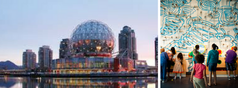 Science world kids birthday party