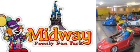 Midway Funpark kid's party