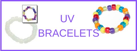UV bracelets for kids parties
