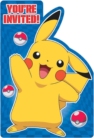 Free Pokemon Birthday Party Invitations