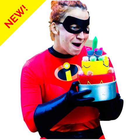 The Incredible birthday with Elastic Woman (4-7 years old)