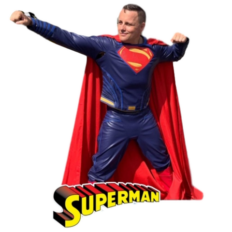 Superman at-home Birthday Party (4 to 10 years old)