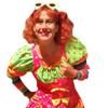 Clown birthday party with Marie Pomette by video chat