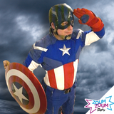 Captaine America at-home Birthday Party