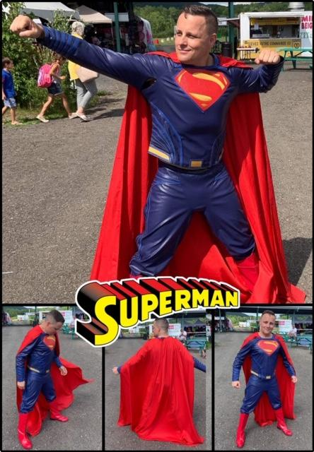 Superman at-home Birthday Party