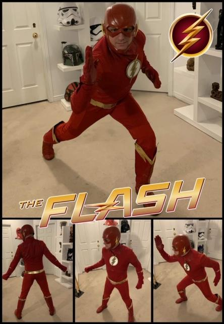 Flash superhero at-home Birthday Party