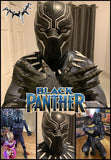 Superhero birthday party with Black Panther by video chat