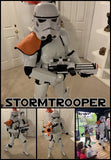 Star Wars Storm Trooper at-home Birthday Party (2 characters)