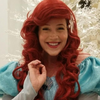 Virtual Princess birthday party with Ariel by video chat